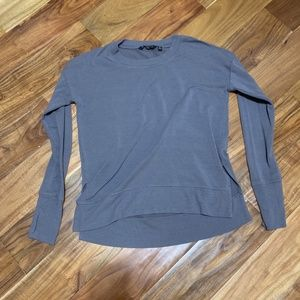 Athleta Gray Sweatshirt - SIZE X-SMALL